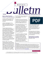 Retail Consulting - National Retail Bulletin - J.C. Williams Group - October 2008