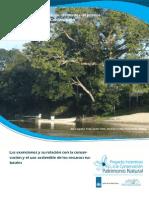 Las exenciones y su relación con la conservación y el uso sostenible de los recursos naturales