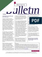Retail Consulting - National Retail Bulletin - J.C. Williams Group - November 2008