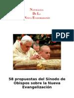 Propuestas Del Sinodo