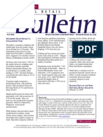Retail Consulting - National Retail Bulletin - J.C. Williams Group - December 2008