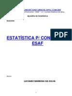 Estatística - Para concursos ESAF
