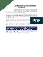 La Historia Del Recreativo de Huelva Entre 1931 y 1945