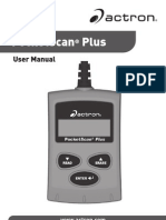 Actron OBD2 manual