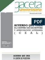 Anexo Gaceta 287- 22 Abril 2012