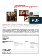Actividades Finales 1 Cristianismo e Islam