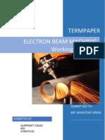EBM Term Paper
