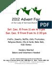 Advent Fair 2012
