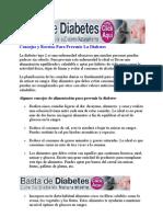 Consejos y Recetas Para Prevenir La Diabetes