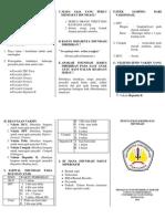 Contoh Leaflet Imunisasi