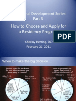Prof Devel Part 3 How to Choose a Residency Prgm (1)