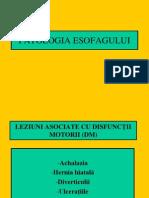 PATOLOGIA ESOFAGULUI