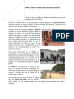 JUEGOS TRADICIONALES DE LOS NIÑOS DE SANJUÁN DE PASTO EN EL PASADO
