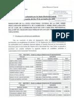 5 Acuerdo JEC (19!11!12) Proclamacion Definitiva Candidatos y Proclamac. Candidatos Electos Provisional