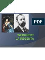 Webquest La Regenta