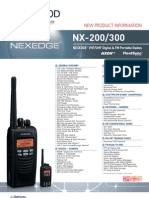 Kenwood NEXEDGE Digital LMR UHF/VHF Portables