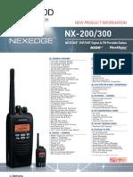 Kenwood NEXEDGE Digital LMR UHF/VHF Portables