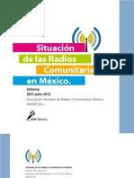 Informe de la Situación de las Radios Comunitarias en México