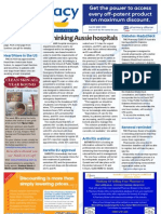 Pharmacy Daily for Wed 21 Nov 2012 - Australian hospital rethink, Arthritis, Diabetes MedsCheck, Health