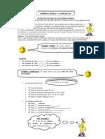 Modulo Numeros Primos, Compuestos y m.cm. y m.c.d.