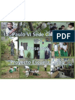 Proyecto Escuela Cacao- I.E. Paulo VI Sede Carrasposo