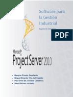 Project Server Informe