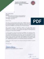 Nov 13 - PRC Letter to PhilRES (rec'd Nov 14)