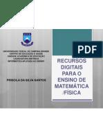 RECURSOS DIGITAIS PARA O ENSINO DE MATEMÁTICA