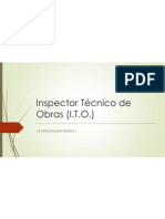 Inspector Técnico de Obras (ITO)