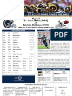 Week 12 - Rams at Cardinals