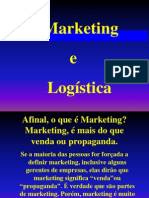 Marketing e Logistica 2012.2