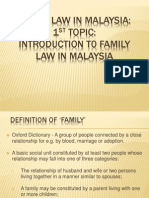 Family Law Note 1