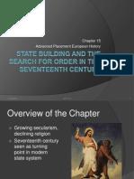 AP European History, CH 15