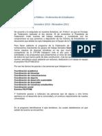 Cuenta Pública FEUTFSM 2012