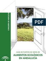 Alimentos Ecológicos Puntos Venta Andalucia, España