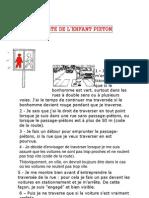Exemple Charte de l'Enfant Piéton