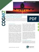 The Impact of RTCA DO-178C on Software Development