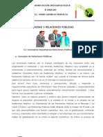 UNIDAD 5 RELACIONES PÚBLICAS
