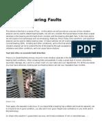 Detecting Bearing Faults