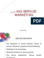 Service Marketing Notes