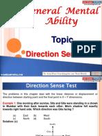 General Mental Ability Direction Sence Test