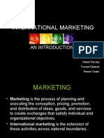 International Marketing Aditi
