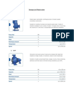 KSB Pumps _Sewage & Waste Water