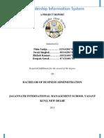 Car Dealership Information System