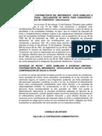 Cons Est Exp 8337 de 1997 Consorcio