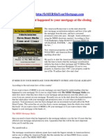 Is Mers in Your Mortgage