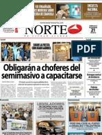 Periodico Norte de Ciudad Juárez 21 de Noviembre de 2012
