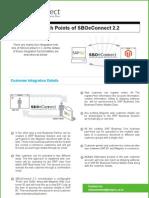 Magento eCommerce SAP B1 Integration Points-SBOeConnect
