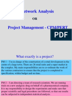 Project_Network Analysis(PERT and CPM) L1