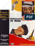 Journalists at Risk (Philippine Journalism Review, September 1991)